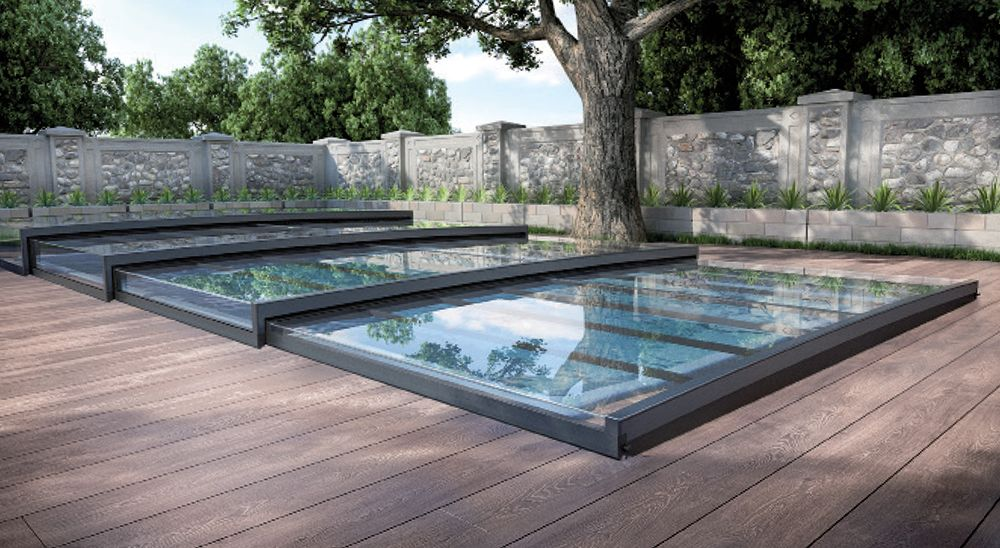 Boutique magiline abris for Abri piscine plat
