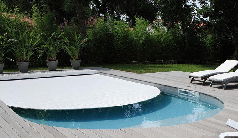 Volet immergé pour piscine