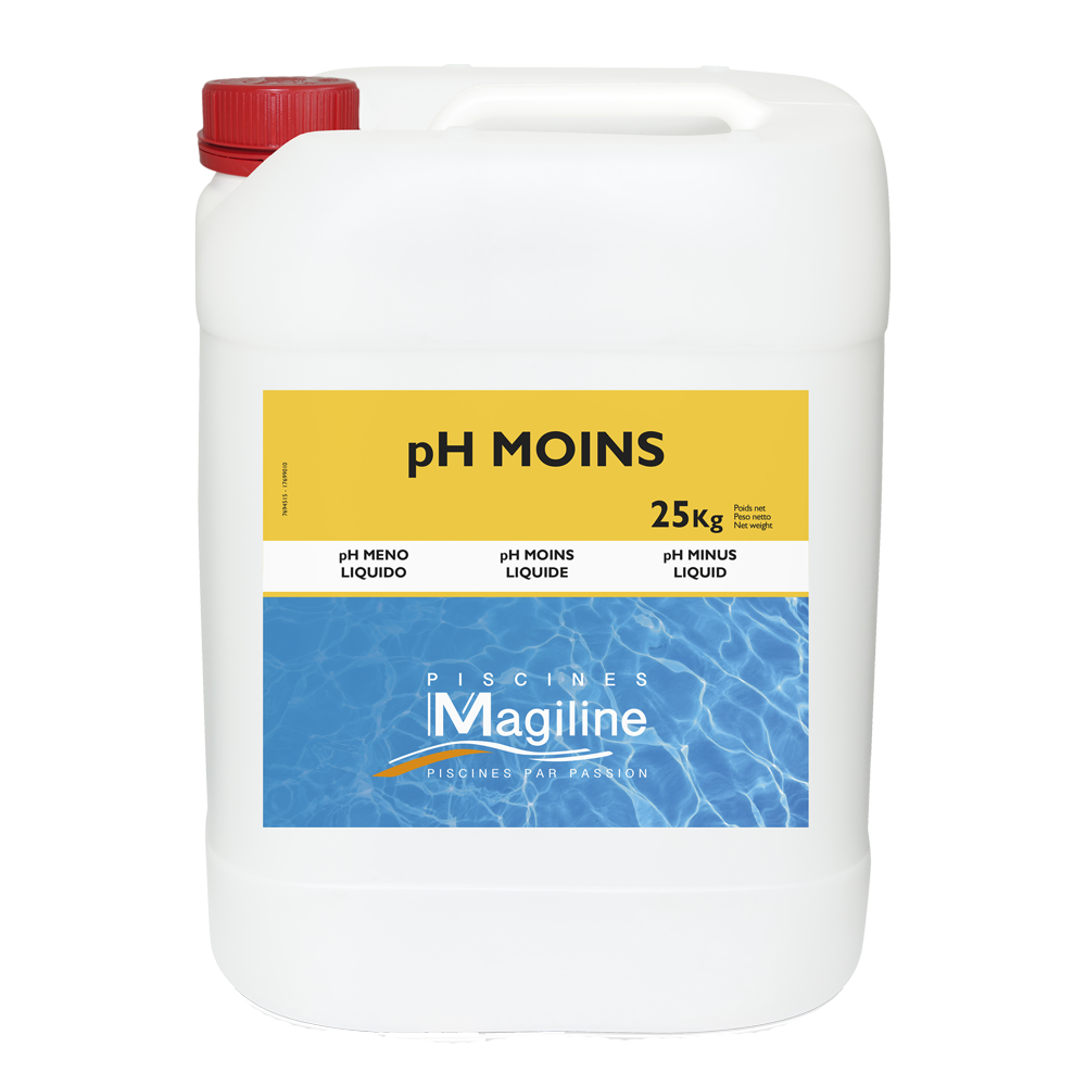 Boutique magiline conseils et astuces traitement de l 39 eau for Ph moins liquide