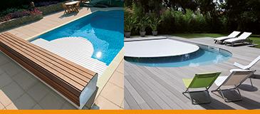 Volets piscine